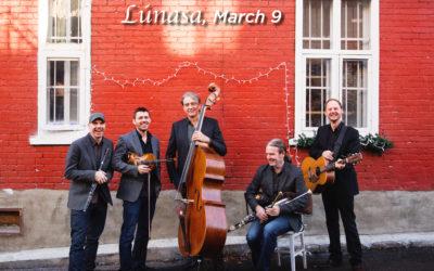 Page Series presents Irish band Lúnasa March 9